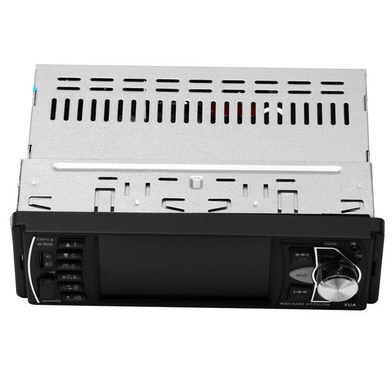 4.1''Single 1DIN Car Stereo MP5 MP3 FM USB/AUX Camera