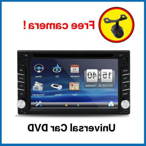 "6.2"" 2Din Car Stereo Radio Screen CD FM Player"