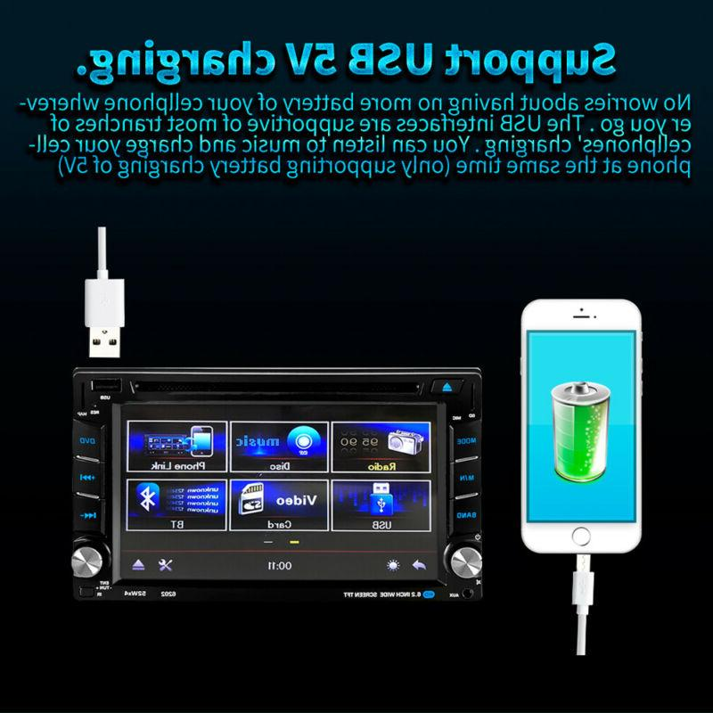 "6.2"" Stereo DVD GPS Navigation Mirror Link 2 +"