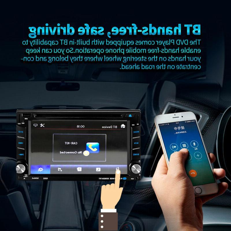 "6.2"" DVD GPS Mirror + Rear"