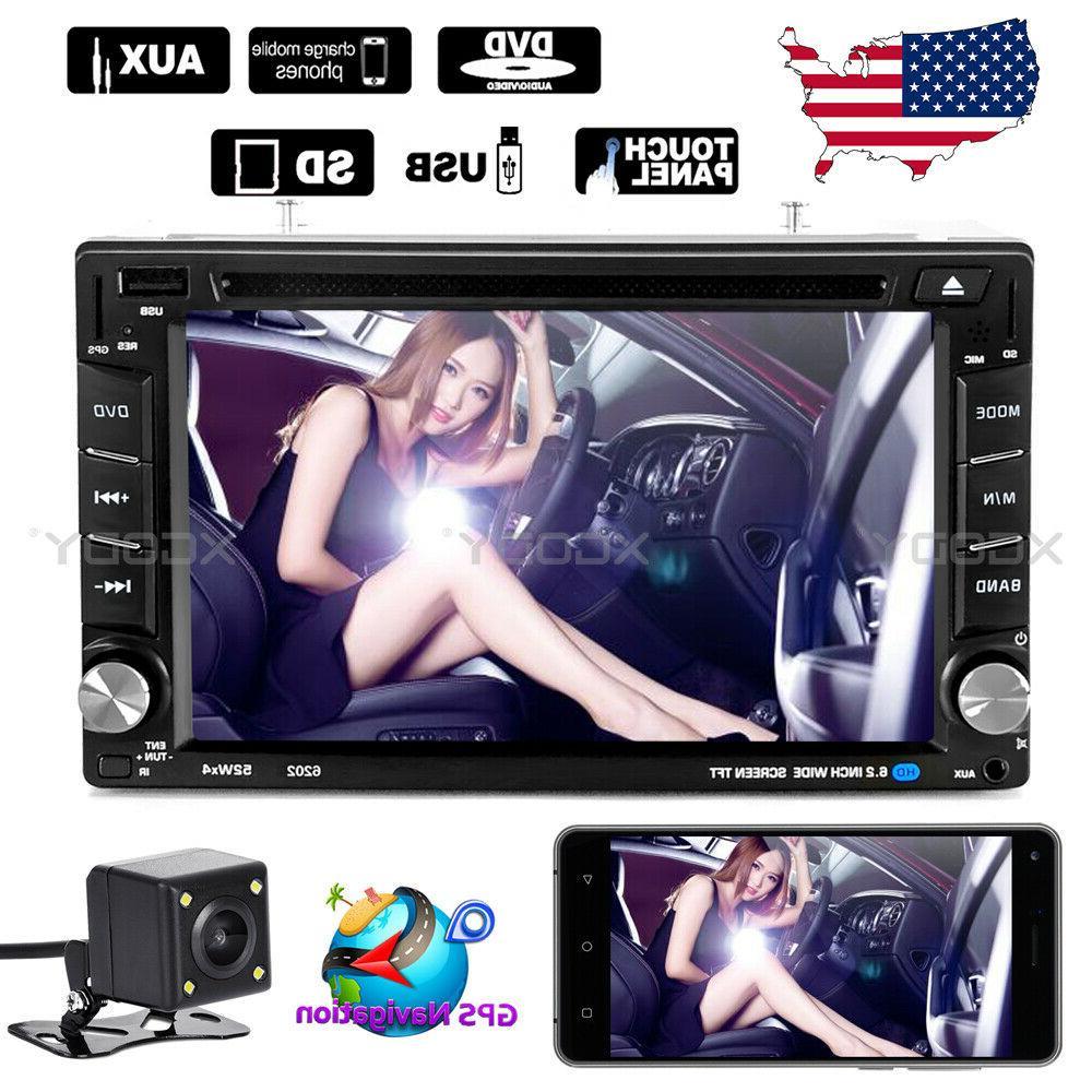 6 2 car stereo radio dvd player