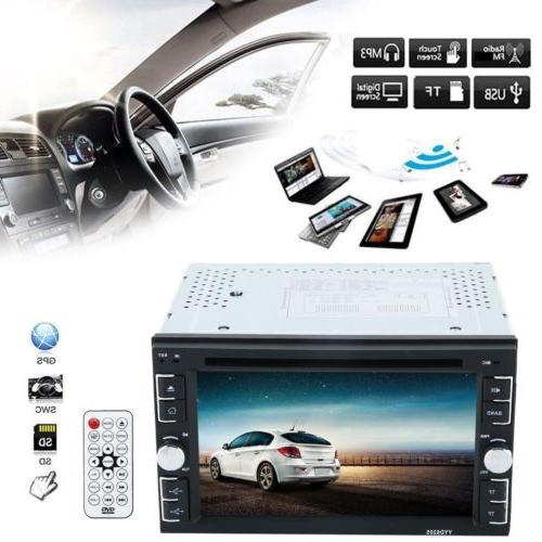 6.2'' HD Double DVD Bluetooth