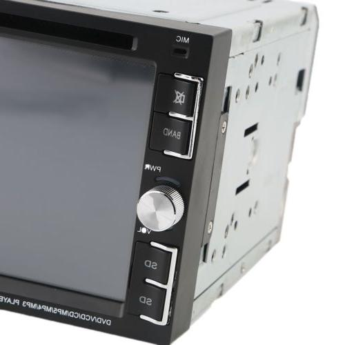 6.2'' HD Touch Double DIN DVD MP3 Player Bluetooth