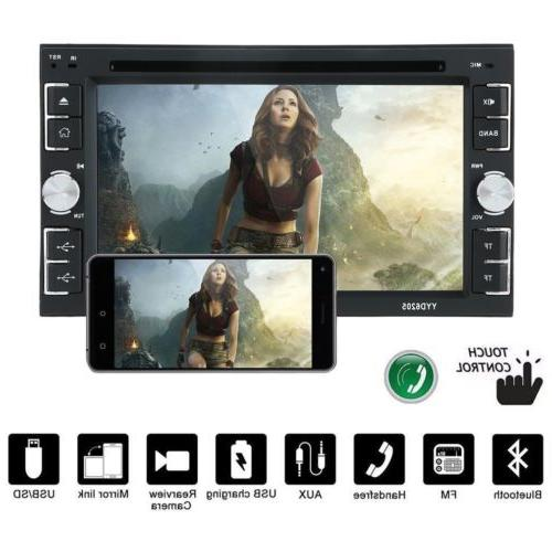 6.2'' Double Bluetooth BT