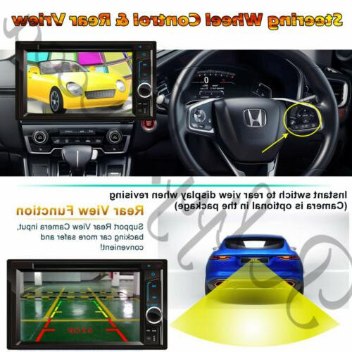 "6.2"" Din DVD Player Stereo Radio Link Headunit"