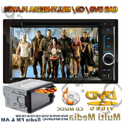 "6.2"" 2 Din Car DVD Double Stereo Link"