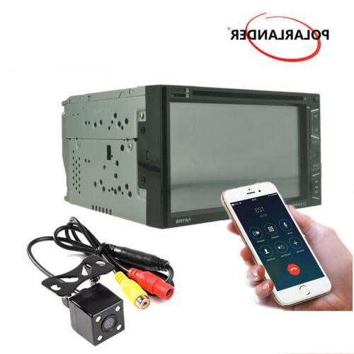 "6.8"" Radio MP5 Stereo AM/FM Touch Control +Camera"