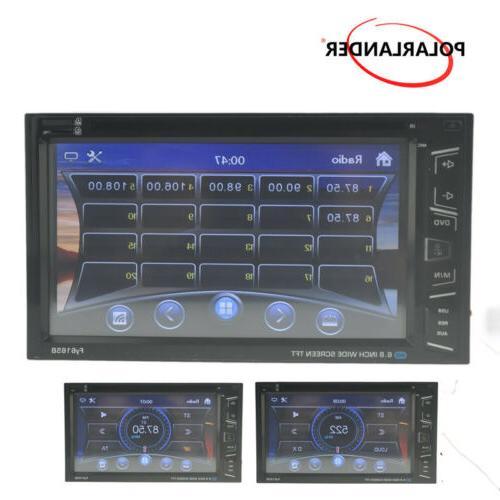"6.8"" Radio DVD AM/FM Touch Screen Control +Camera"