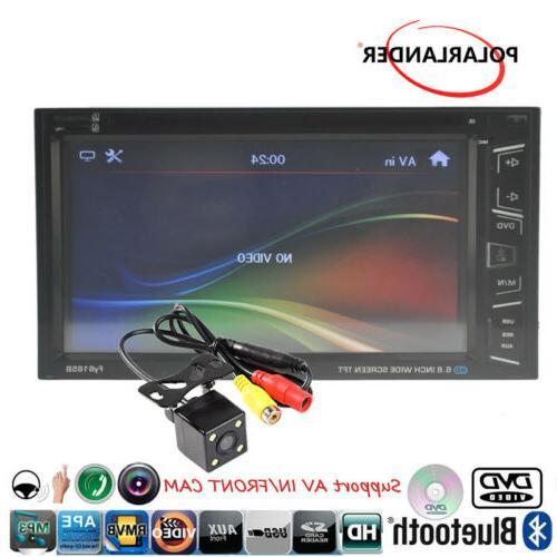 """6.8"""" 2 DIN AM/FM Screen Control +Camera"""