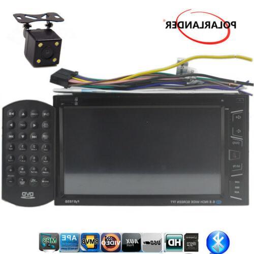 """6.8"""" Radio MP5 Stereo AM/FM Remote Control +Camera"""