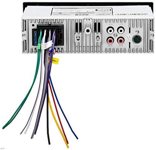 BOSS Audio 610UA Car Stereo Din, USB AUX Receiver