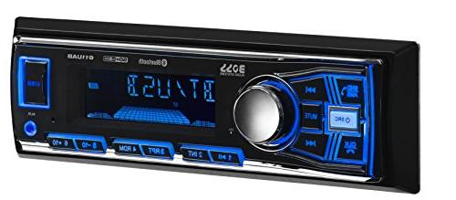 BOSS 611UAB Multimedia Car Single Din, Bluetooth Audio Hands-Free Built-in MP3 USB AUX Receiver,