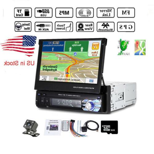 "7"" 1 Din Car Radio Stereo MP5 Player GPS NAVi/AUX/USB/Blueto"