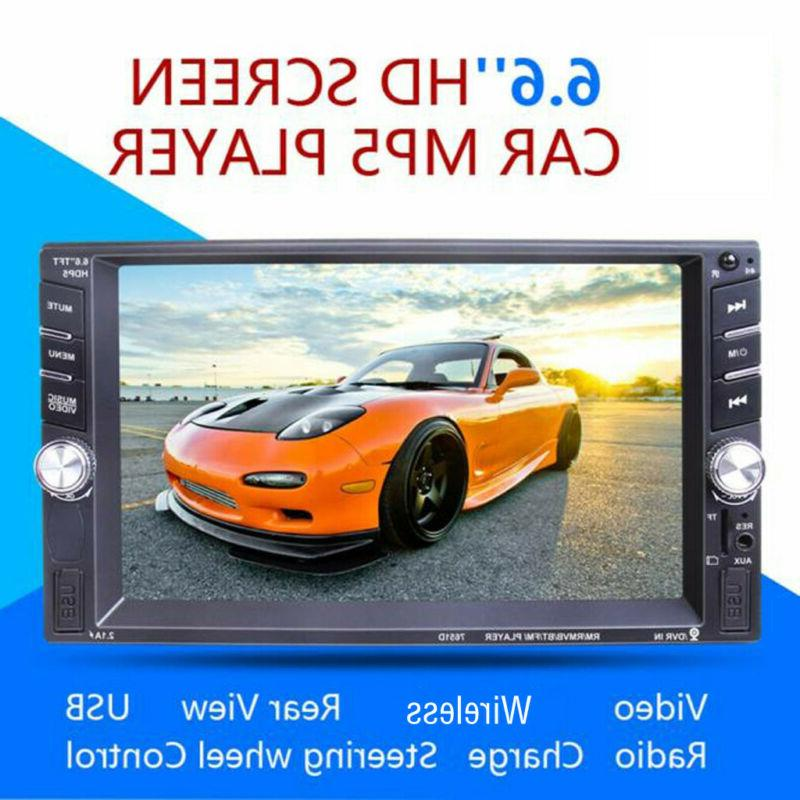 """7"""" 1080P DIN Car Stereo Touch"""
