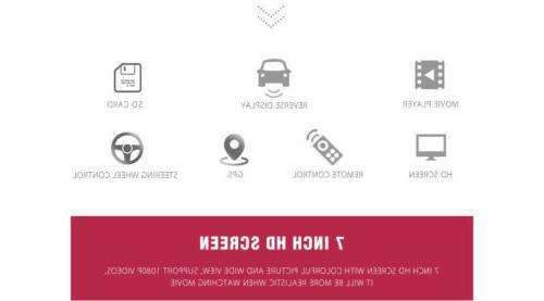"7"" 1 Car Radio Stereo MP5"