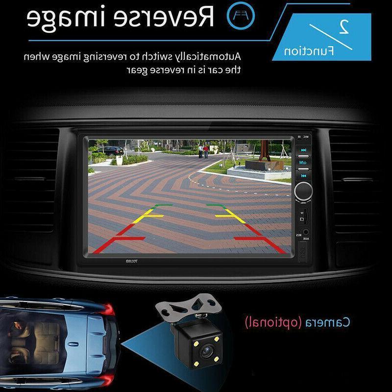 """7"""" Stereo GPS MP5 Bluetooth + Rear Camera"""