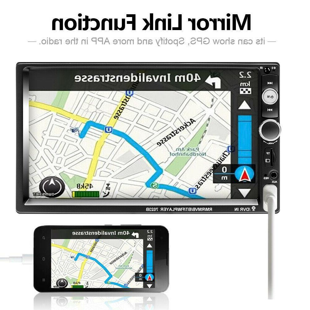 "7"" Radio Bluetooth Mp5 Player SD TF"