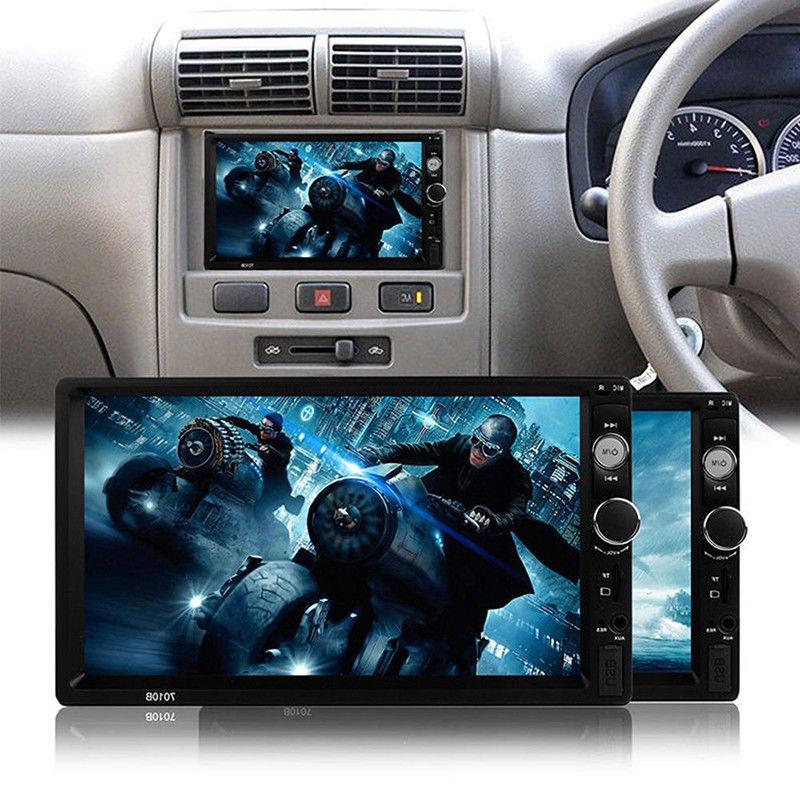 "7"" Din HD 1080P Screen FM/MP5 Bluetooth"