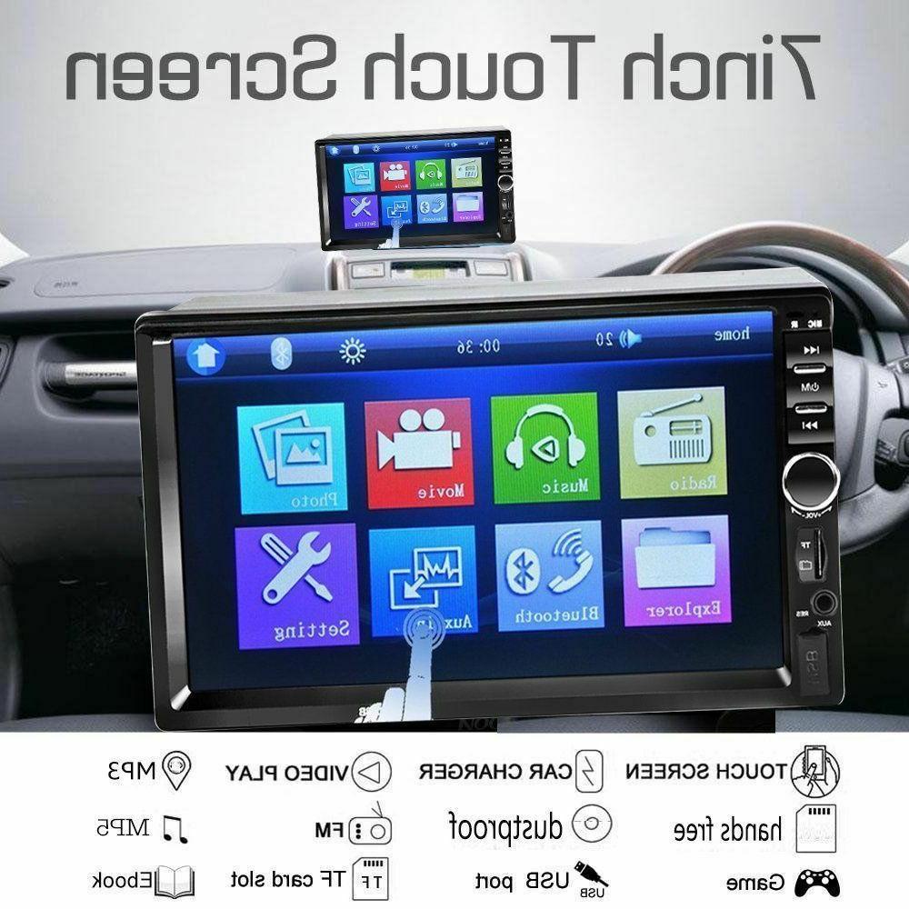 7'' Screen Bluetooth Stereo Audio