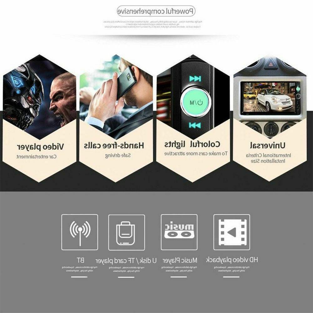 7'' Screen Radio MP5 Bluetooth