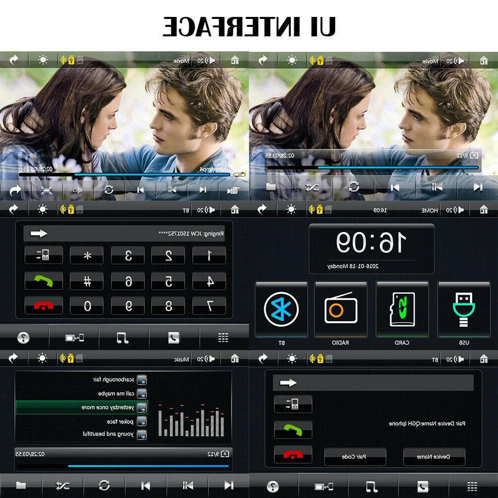 Double Car Radio Play Stereo Bluetooth