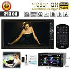 "7"" Double 2Din Car CD DVD MP3 Player In Dash Bluetooth Radio"