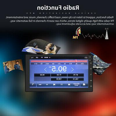 "7"" WiFi Radio Stereo Bluetooth No DVD Player"