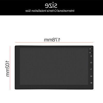 "7"" Android 8.1 WiFi Double 2din Radio Stereo Bluetooth No DVD Player"
