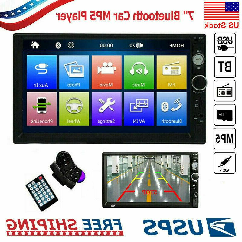 7 android car stereo radio double 2