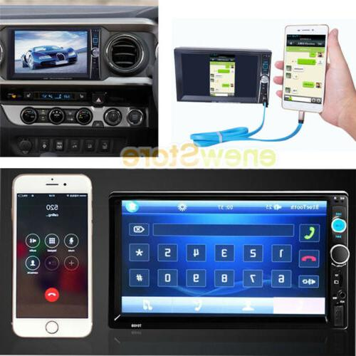 "7"" Bluetooth Touch Screen Double Radio HD"
