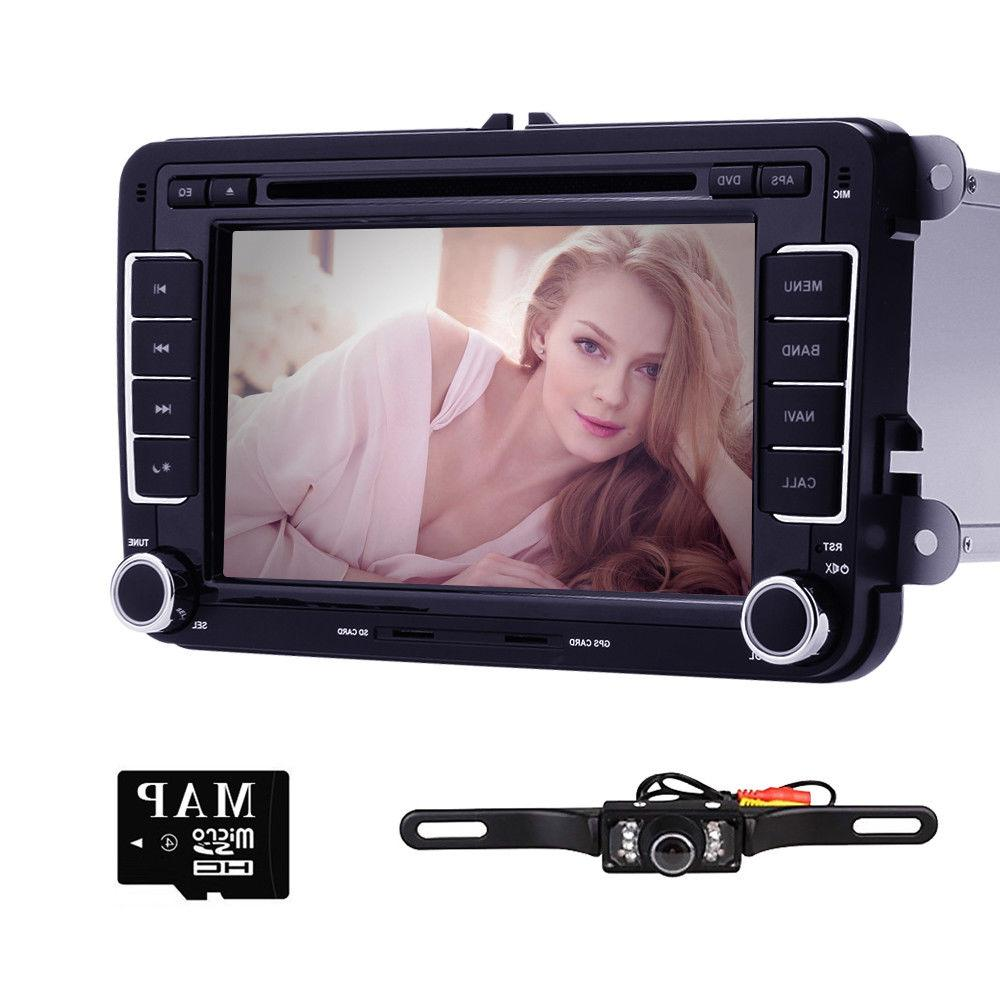 "7"" Car Player Radio Unit VW MK5 Eco+Camera"