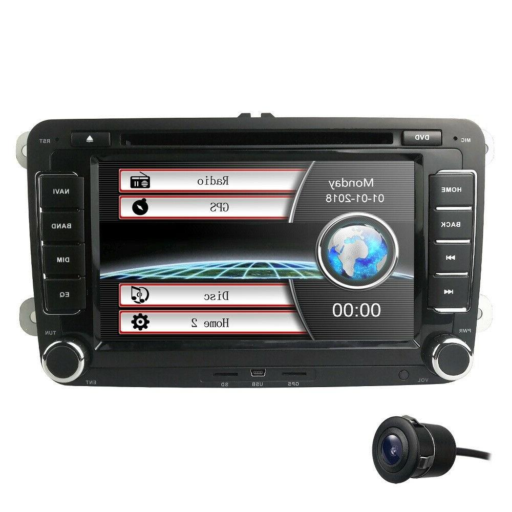 7 car dvd player radio stereo gps