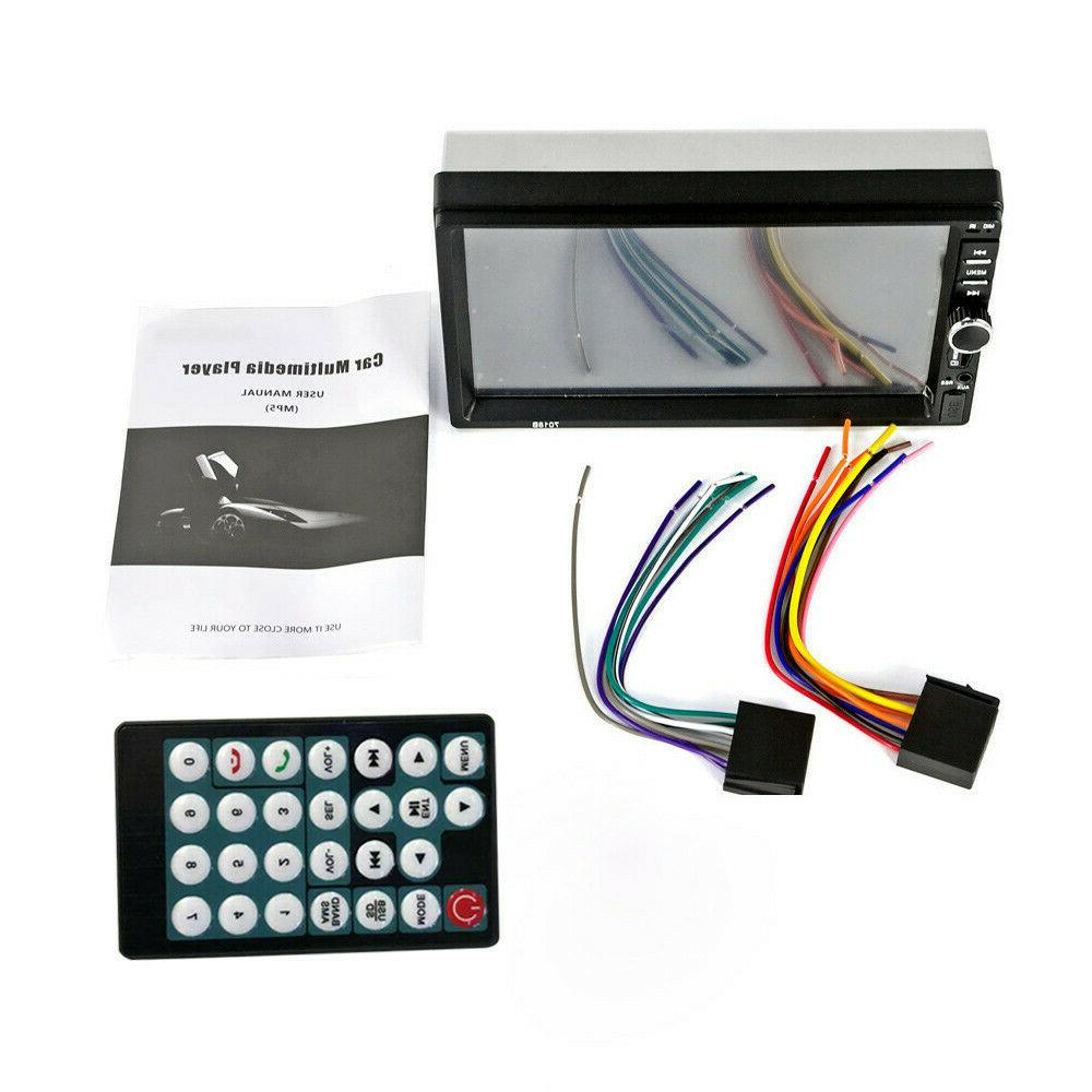 7 Inch 7018B 2 DIN Car Stereo MP5 TouchScreen