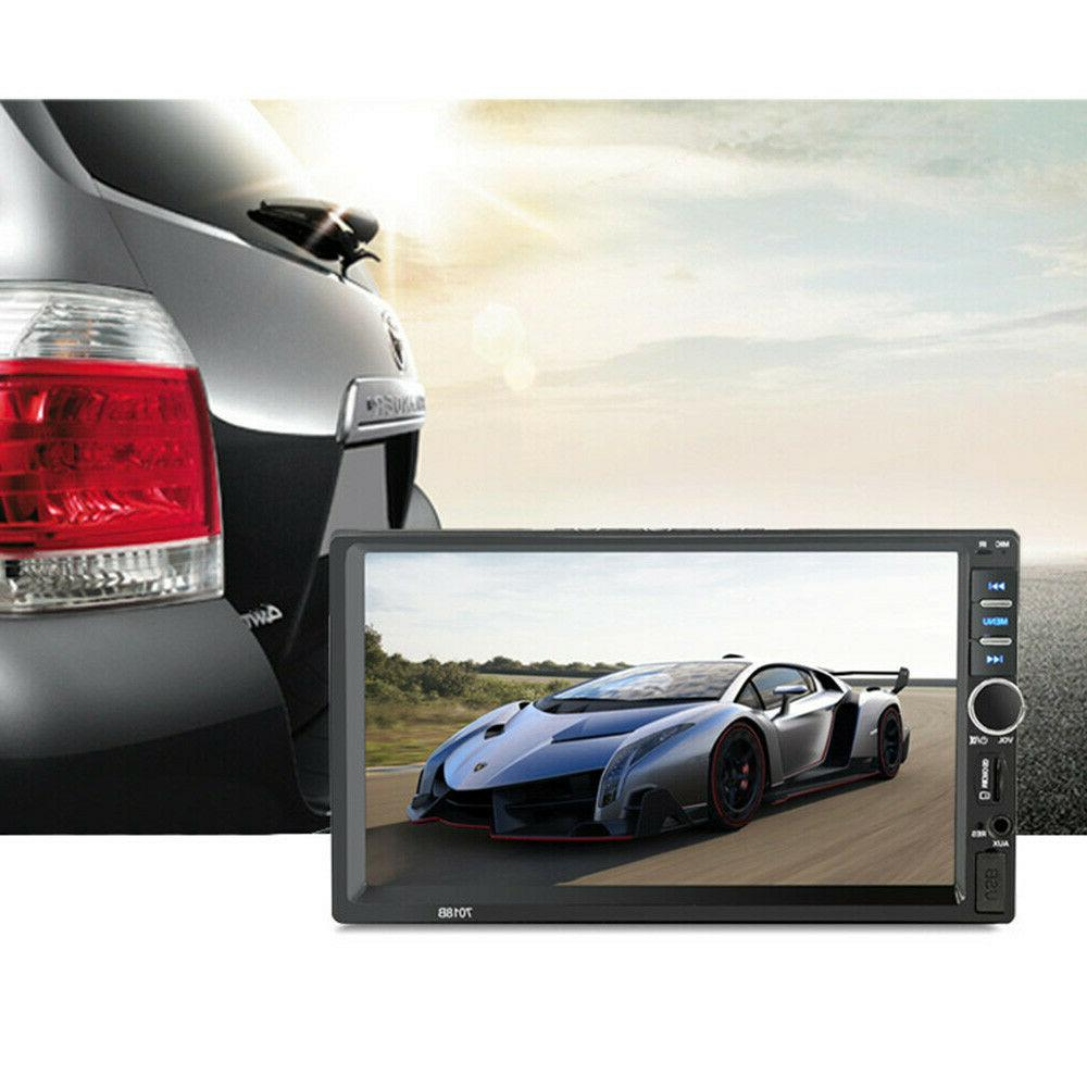 7 Inch Double 2 Stereo TouchScreen