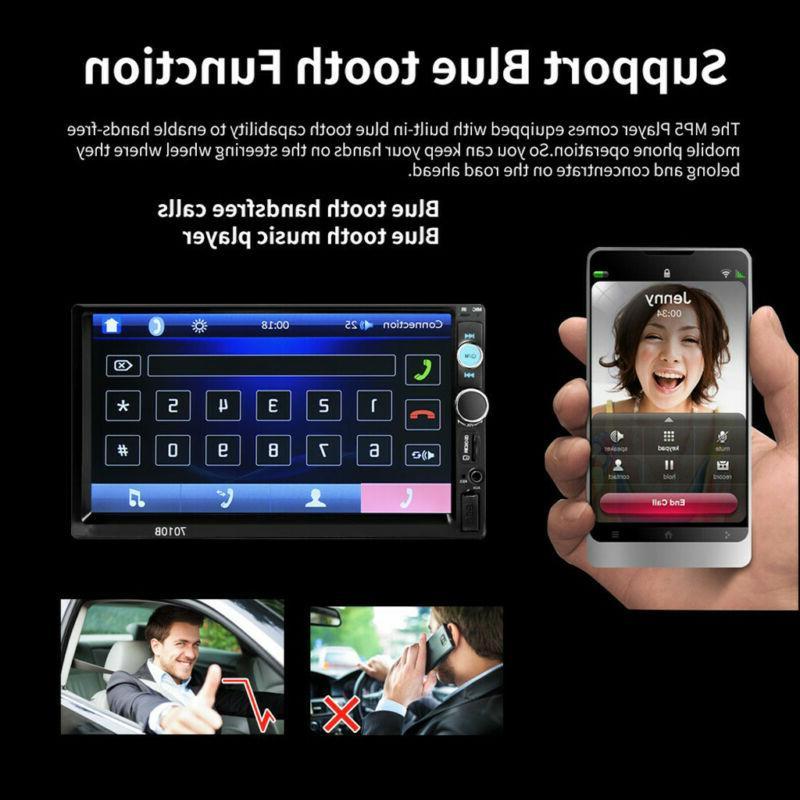 "7"" Inch Car Stereo Radio HD MP3 Radio"