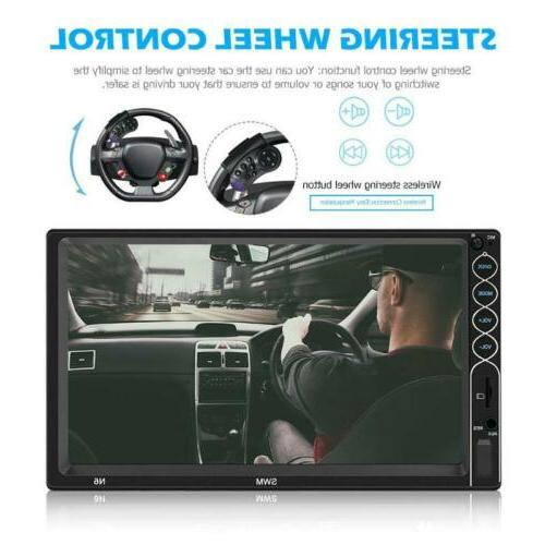 "7"" MP5 HD Rear Screen Bluetooth"