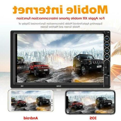 "7"" Car MP5 Player Rear View Camera Screen"