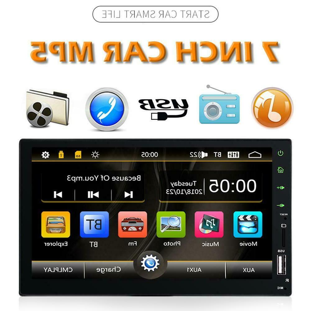 7 DIN FM Stereo MP5 Touch