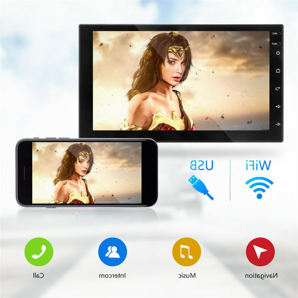 7'' Double DIN Android 9.1 FM Radio Head