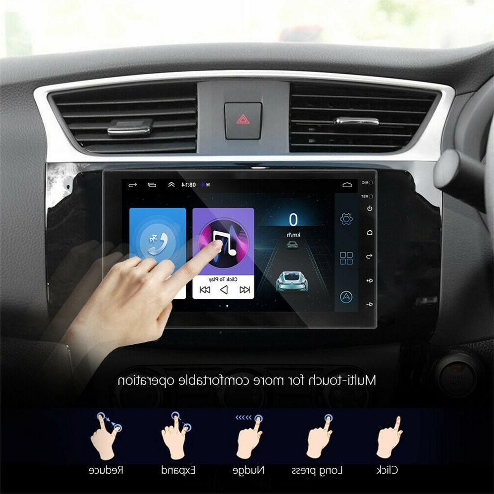 7'' Double 2 Android Car FM Radio GPS Head