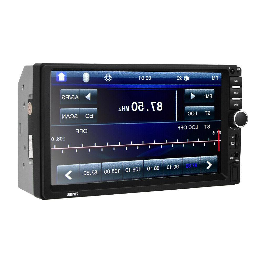 """7"""" 2 DIN Car Player Touch w/"""