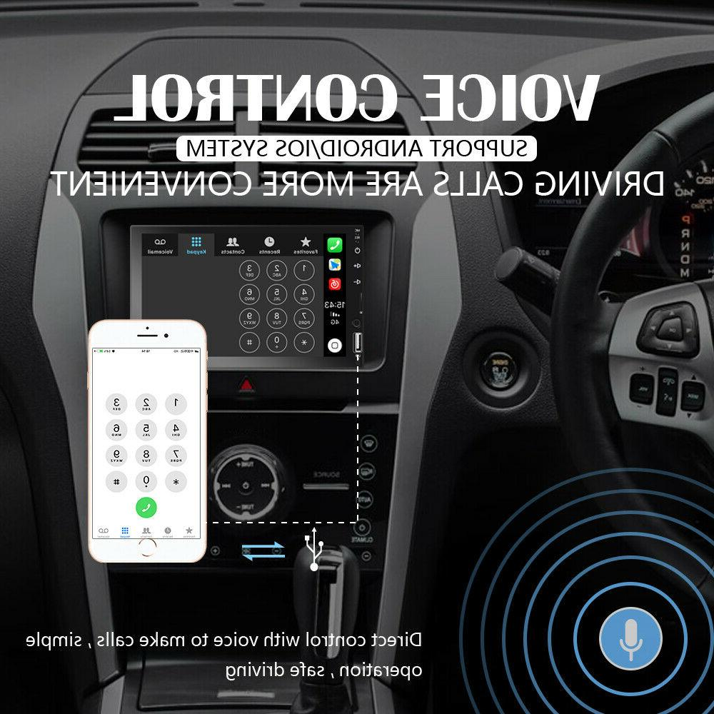 """7"""" Double 2 Radio Apple/Andriod Play BT Stereo Screen +"""