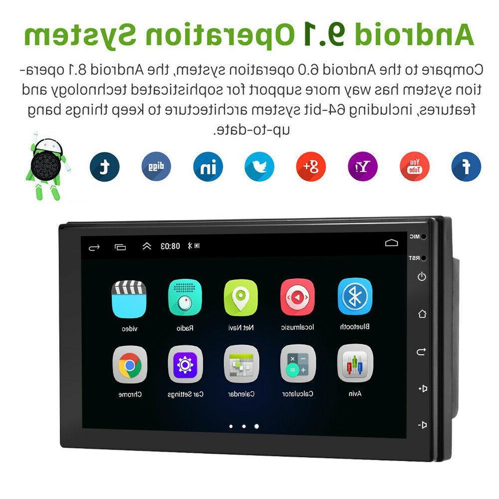 """7"""" Double 2DIN Car Radio 9.1 GPS FM MP5"""