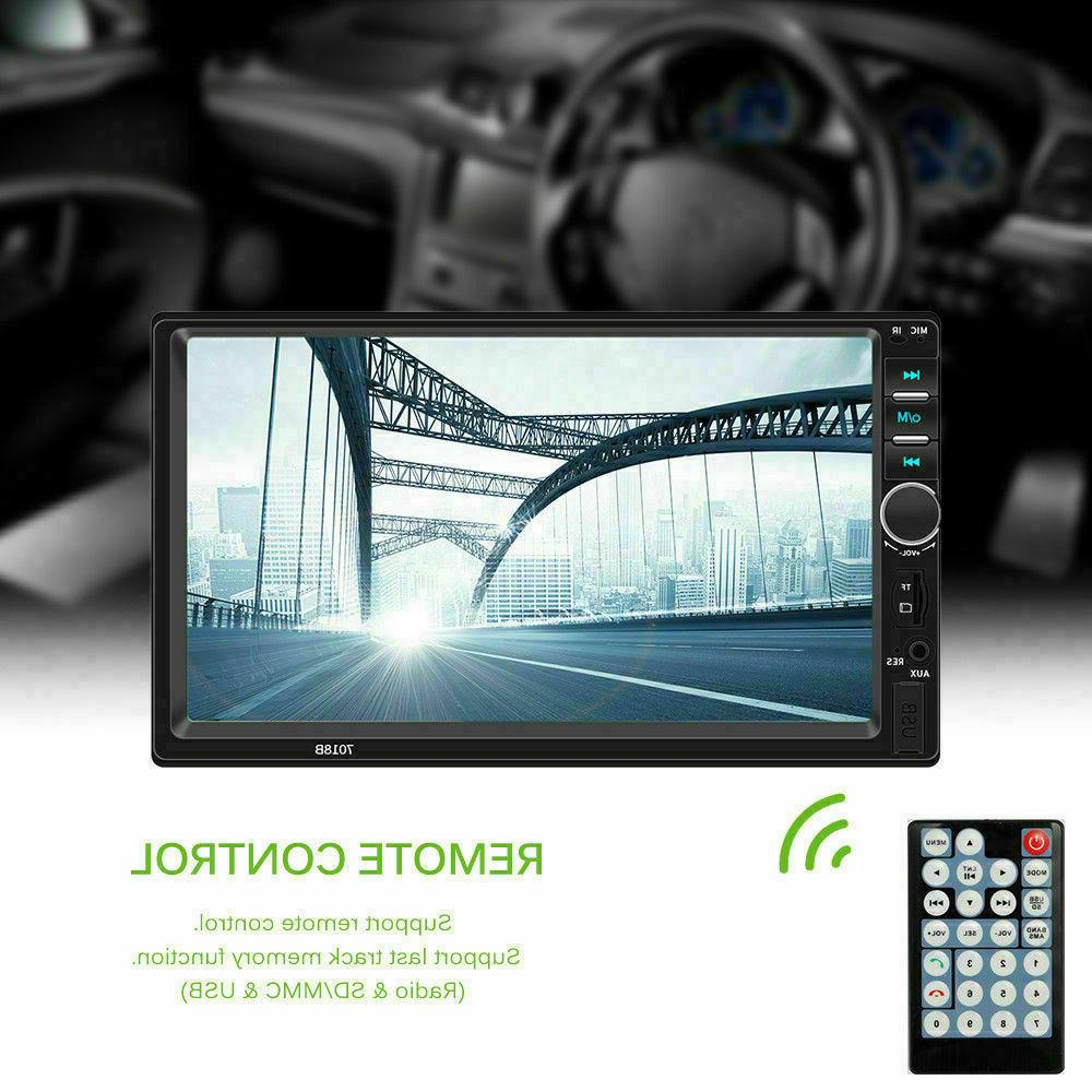 7 7018B DIN GPS Stereo Player Touch Screen