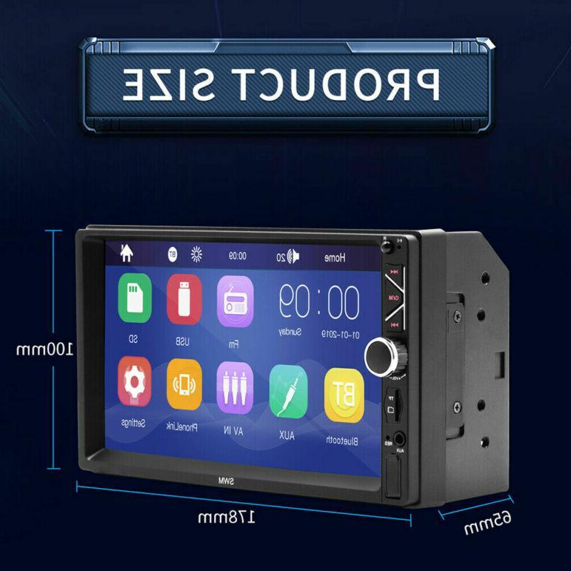 "7"" DVD Bluetooth+Radio Stereo+Steering Control"