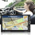 "7""HD GPS 2Din Car Stereo FM/MP5/AUX Bluetooth Radio Rear Vie"