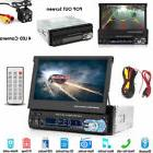 """7"""" HD MP5 FM Player Bluetooth Car Stereo Radio 1 DIN Touch F"""