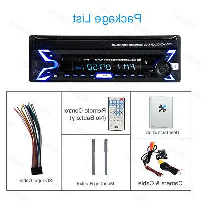 7 in Car CD Player Stereo Flip Out 1 Camera