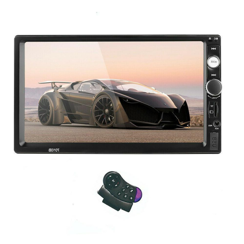 "7"" 1080P Bluetooth Touch Screen Radio HD"