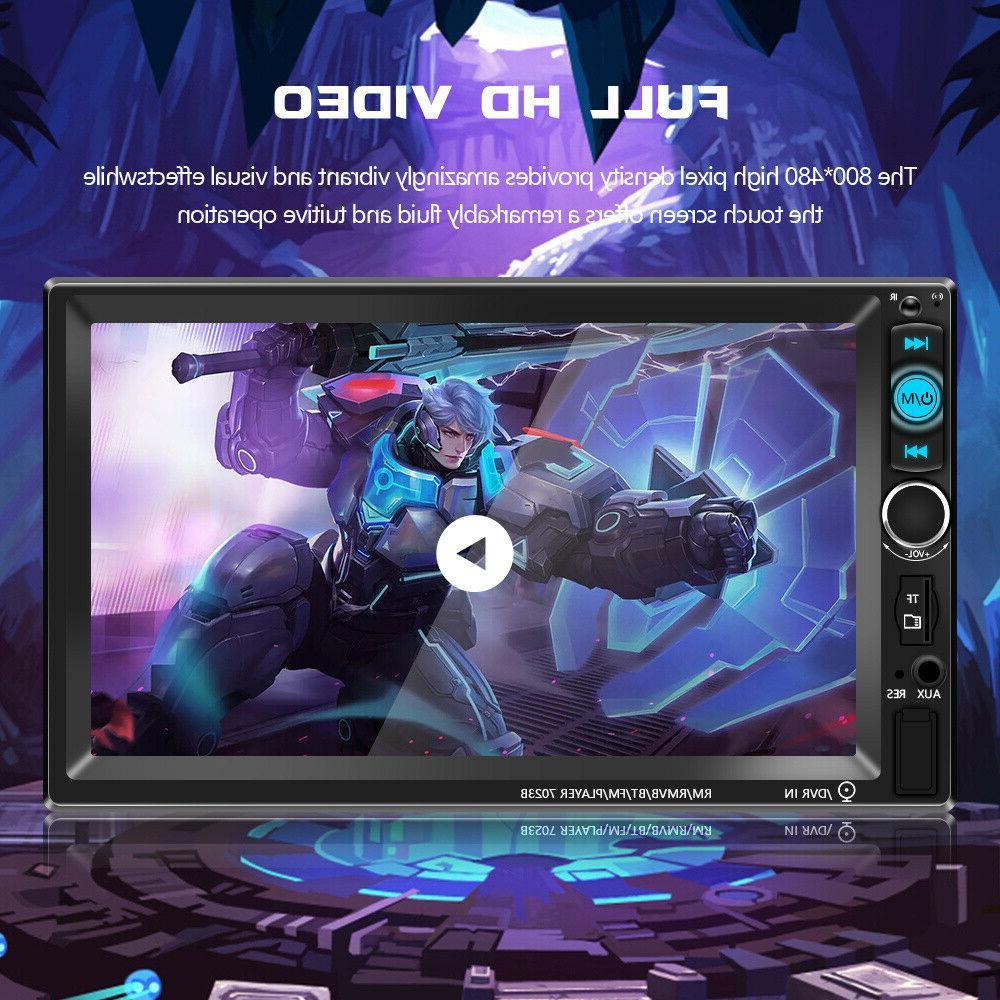 "7"" Inch 2 DIN Car Radio HD MP5 FM Player Screen"